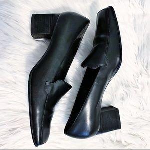 Bandolino Black slip on heels